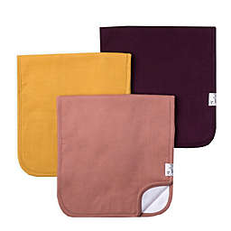 Copper Pearl 3-Pack Jade Burp Cloths