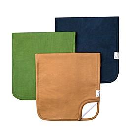 Copper Pearl 3-Pack Ridge Burp Cloths
