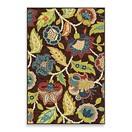 Aria Rugs Veranda Ethridge Indoor/Outdoor Rug in Brown