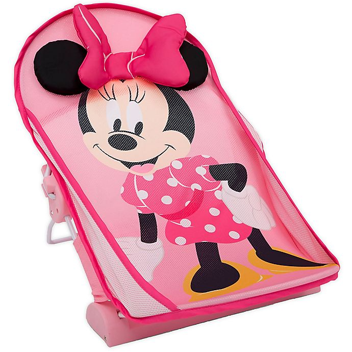 Alternate image 1 for Delta Children Disney® Minnie Mouse Baby Bather in Pink