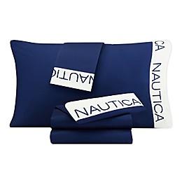 Nautica® Anchor Kid's Cuff Logo Sheet Sets