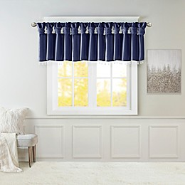 Madison Park Emilia Twist Tab Window Valance