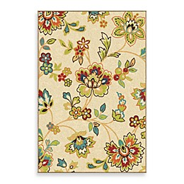 Aria Rugs Veranda Collection Walters Rug in White
