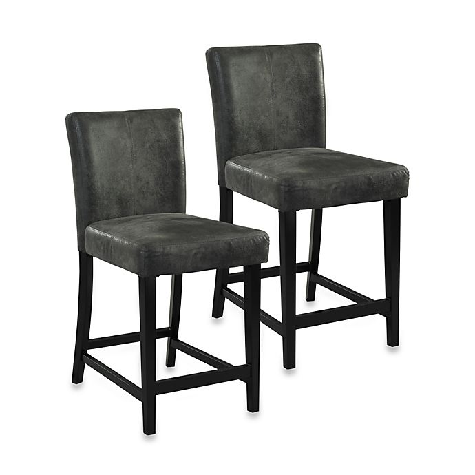 Morocco Stool In Charcoal Bed Bath Amp Beyond