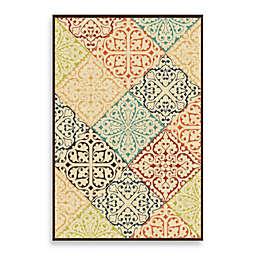 Aria Rugs Veranda Collection Whitten Rug in Multicolor