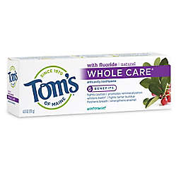 Tom's of Maine 4 oz. Whole Care Toothpaste in Wintermint