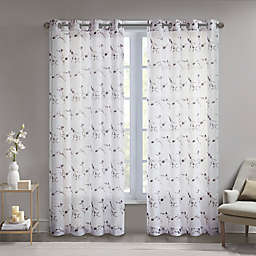 Madison Park Meredith Grommet Light Filtering Window Curtain Panel