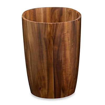 Acacia Vanity Wastebasket