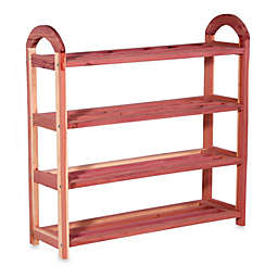 Cedar Fresh 4-Tier Shoe Rack