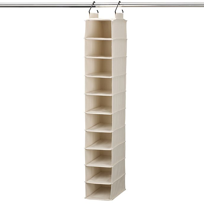Alternate image 1 for Household Essentials® Cedarline Collection 10-Pocket Shoe Organizer