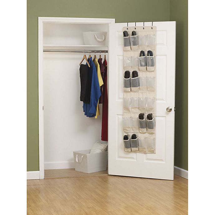 Alternate image 1 for Household Essentials® Cedarline Collection Over-the-Door Shoe Organizer