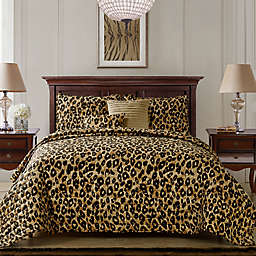 VCNY Home Cheetah 5-PIece Reversible Quilt Set