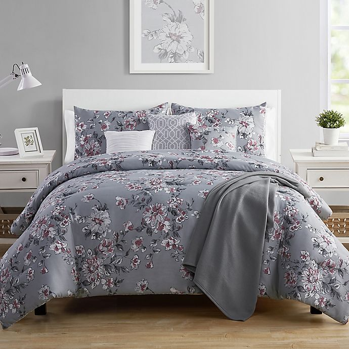 Alternate image 1 for VCNY Home Mosi 7-Piece Reversible Comforter Set