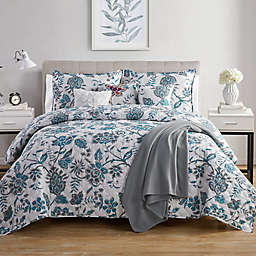 VCNY Home Alexe 7-Piece Reversible Floral Quilt Set