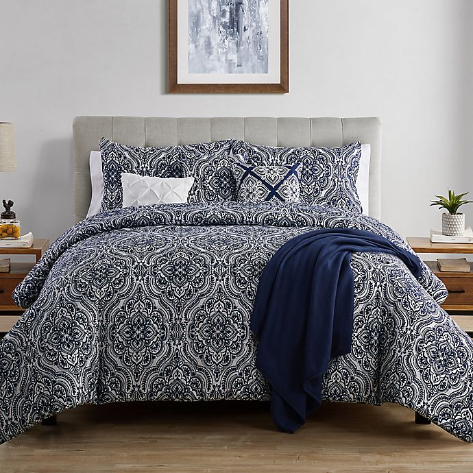 Alternate image 1 for VCNY Home Arwen 7-Piece Reversible Comforter Set
