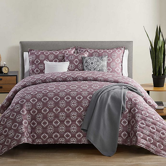 Alternate image 1 for VCNY Home Cairo 7-Piece Reversible Quilt Set