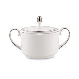Vera Wang Wedgwood® Blanc Sur Blanc Covered Sugar Bowl