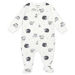 Petit Lem® Newborn Lamb Organic Cotton Footie in Ivory