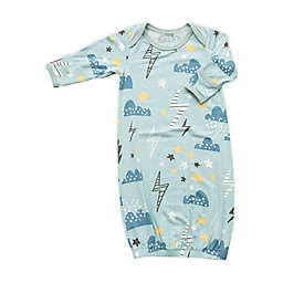 Bestaroo Size™ 0-3M Weather Forecast Gown in Blue