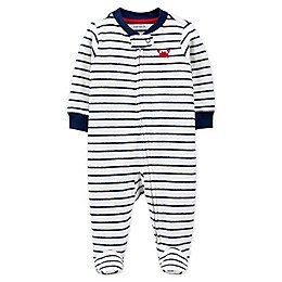carter's® Zip-Front Crab Sleep & Play Footie
