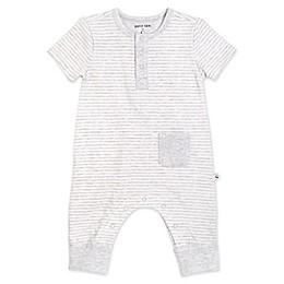 Petit Lem® Organic Cotton Coverall in Grey Stripe