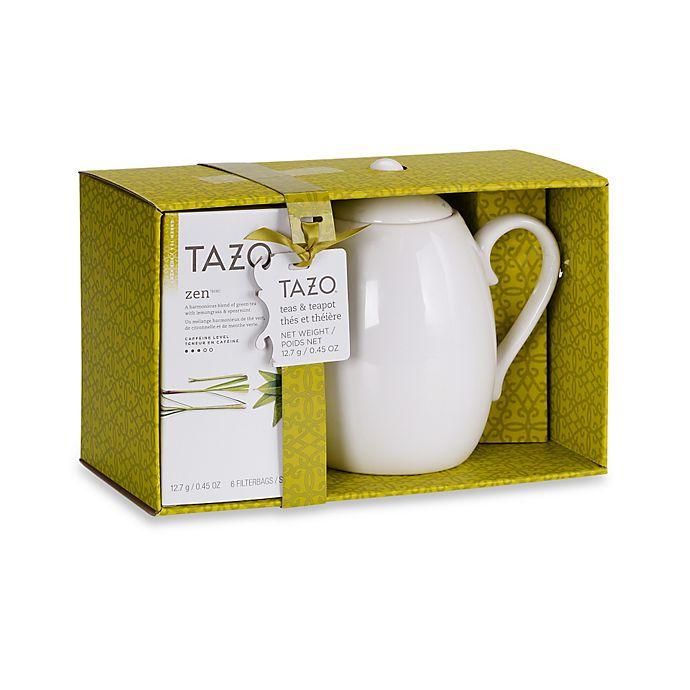 Alternate image 1 for Tazo® Zen™ Tea and Teapot Gift Set in Green