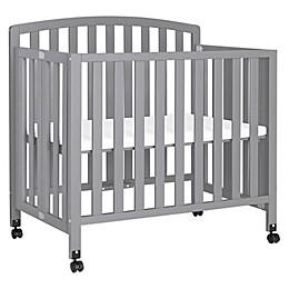 Davinci Dylan 3 in 1 Convertible Mini Crib in Grey