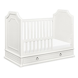 Emma Regency 3 in 1 Convertible Crib in Warm White