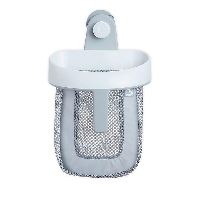 Alternate image 1 for Munchkin® Super Scoop Bath Toy Organizer in Grey/White