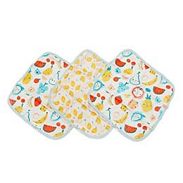 Loulou Lollipop 3-Pack Cutie Fruits Washcloths