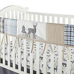 Levtex Baby® Logan Crib Rail Guard in Navy/Taupe
