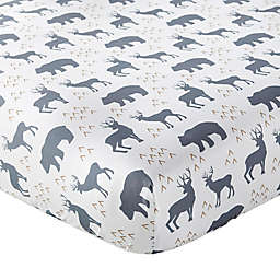 Levtex Baby® Logan Woodland Fitted Crib Sheet