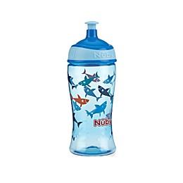 Nuby™ 12 oz. Shark Pop-Up Super Slurp Cup in Blue
