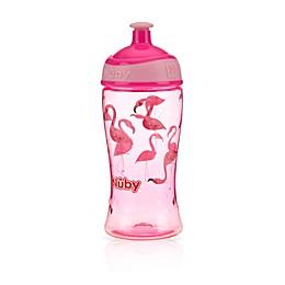 Nuby™ 12 oz. Flamingo Pop-Up Super Slurp Cup in Pink
