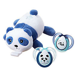 Tommee Tippee 0-6M Stuffed Panda Pacifier Snuggie Set