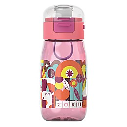 Zoku® Flip Gulp 16 oz. Water Bottle in Pink