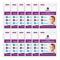 LinnieLou™ 12-Pack 3-in-1 Disposable Feeding Kits