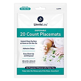 LinnieLou™ 20-Count Disposable Placemats