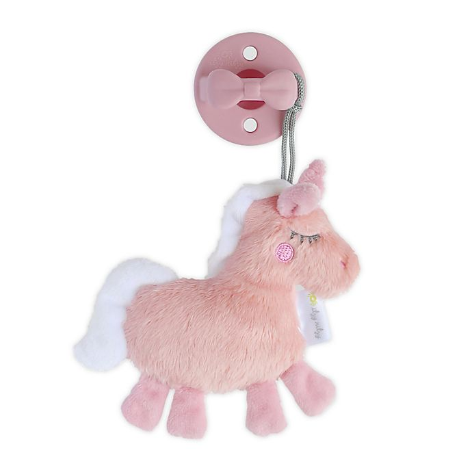 Alternate image 1 for Itzy Ritzy® Unicorn Sweetie Pal™ with Pacifier
