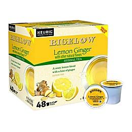Bigelow® Classic Lemon Ginger Tea Keurig® K-Cup® Pods 48-Count