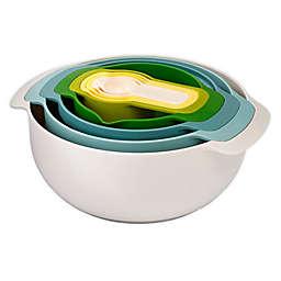 Joseph Joseph® Opal Nest Polypropylene 9-Piece Mixing Bowl Set