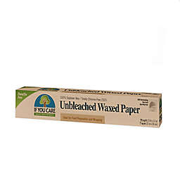 If You Care® Unbleached Waxed Paper in Light Tan