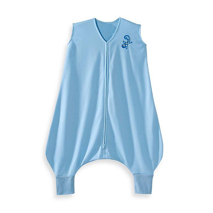 Alternate image 1 for HALO® SleepSack® Early Walker Lightweight Knit in Blue Gecko