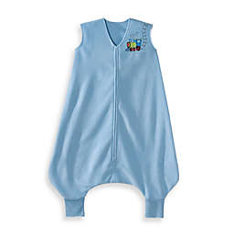HALO® SleepSack® Early Walker Microfleece in Blue Train