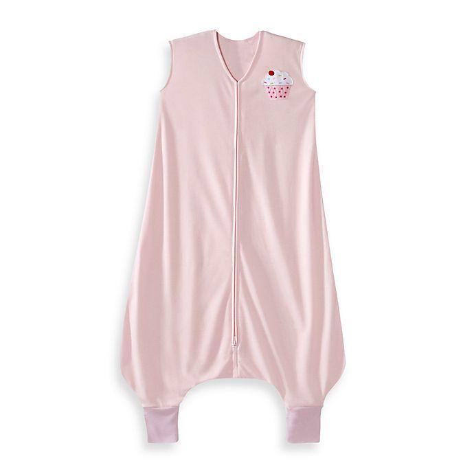 Alternate image 1 for HALO® SleepSack® Lightweight Knit Big Kids Wearable Blanket in Pink Cupcake