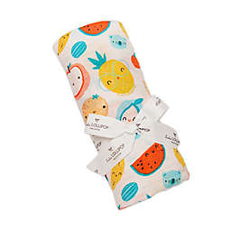 Loulou Lollipop Cutie Fruits Swaddle Blanket