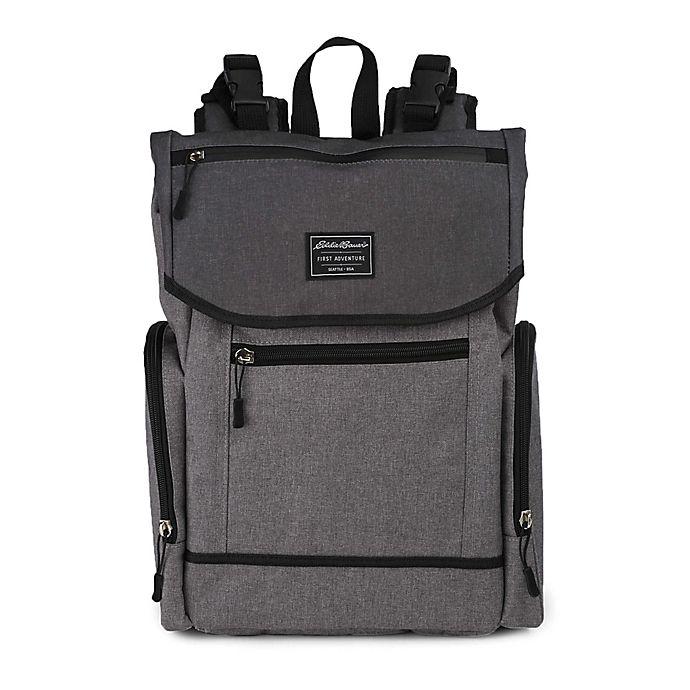 Alternate image 1 for Eddie Bauer® Echo Bay Backpack Diaper Bag