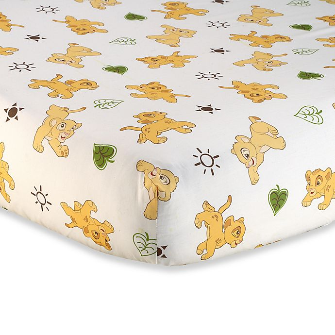 Disney Baby 174 Lion King Go Wild Fitted Crib Sheet Bed