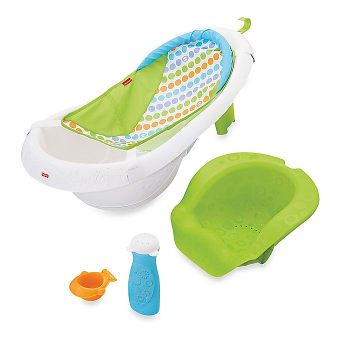 Alternate image 1 for Fisher-Price® 4-in-1 Sling 'n Seat Bath Tub