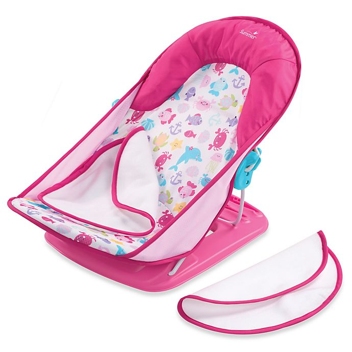 f20d2271505 Summer Infant® Bath Tub Sling with Warming Wings in Pink